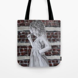 A Certain Shade of Red Brick Tote Bag