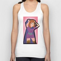 dungeons and dragons Tank Tops featuring DUNGEONS & DRAGONS - SHEILA by Zorio
