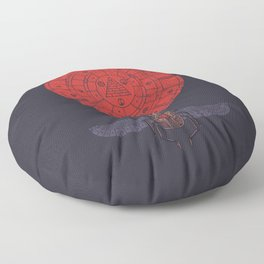 Sacred Sun Floor Pillow