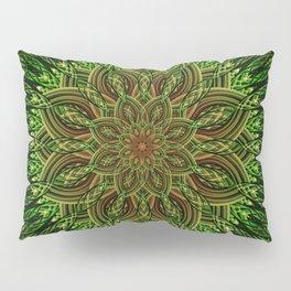 Earth Flower Mandala Pillow Sham