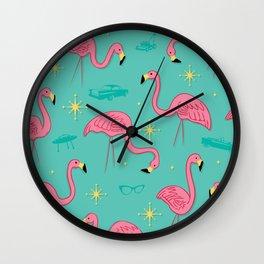 suburbia Wall Clock