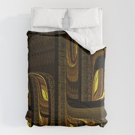 Hard-shipping Maze Comforters