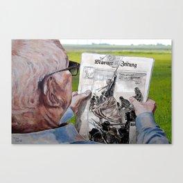 SENSATION - today Canvas Print