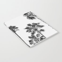 Black & White Palms 3 Notebook
