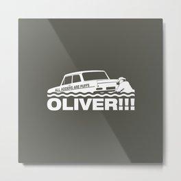 Top Gear: Oliver Metal Print