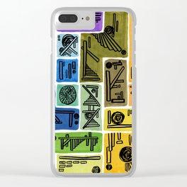 Var I Nation - Tetris Clear iPhone Case