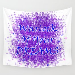 Warlock Of Your Dreams (Blue) Wall Tapestry