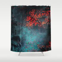 nightmare Shower Curtains featuring Nightmare by Tayler Smith