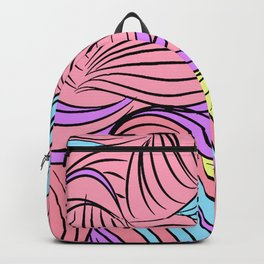 Seuss-y Cartoon Lines Backpack