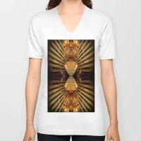 predator V-neck T-shirts featuring Predator by Robin Curtiss