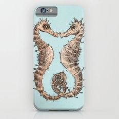 Kissing Seahorses iPhone 6 Slim Case