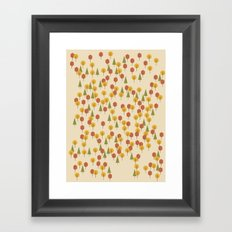 Geometric Woods Ver. 3 Framed Art Print