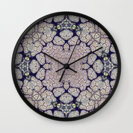 Duckweed Kaleidoscope | Micro Series 01 Wall Clock