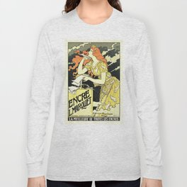 Marquet ink, art nouveau ad by Grasset Long Sleeve T-shirt