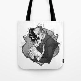 Inktober Frankenstein's monsters Tote Bag