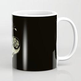 Cute Skulls Think Green Coffee Mug