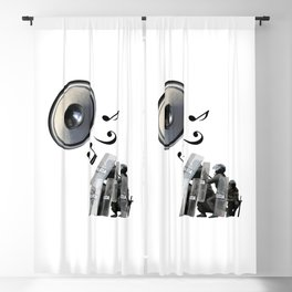 Protest Song Blackout Curtain