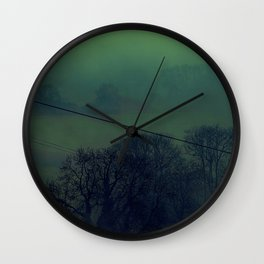 Fog 10 Wall Clock