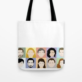 Once Upon A Cast Tote Bag