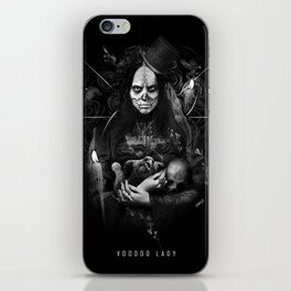 Voodoo Lady iPhone Skin