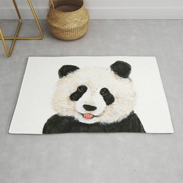 naughty little panda Rug