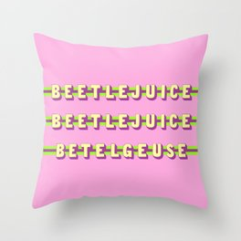 Betelgeuse (Rule of Threes) Throw Pillow