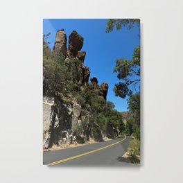 Scenic Bonita Canyon Road Metal Print