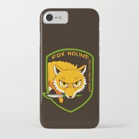 metal gear solid iPhone & iPod Cases featuring Metal Gear Solid - Chibi Foxhound by feriowind