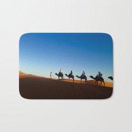 Camel ride in the Sahara Bath Mat