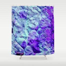Ocean Spiral Shower Curtain