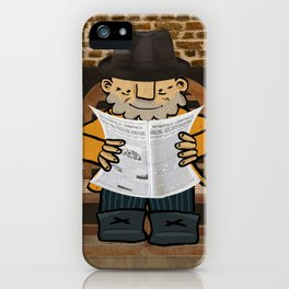 Afonso Larguinho iPhone Case