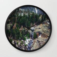Mountain Pano Wall Clock
