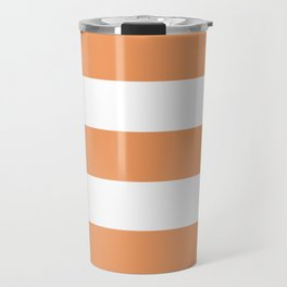 Pumpkin Stripe Travel Mug