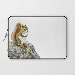 Bright-eyed and Bushy-tailed by Teresa Thompson Laptop Sleeve