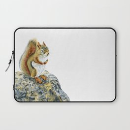 Bright-eyed and Bushy-tailed by Teresa Thompson Laptop Sleeve