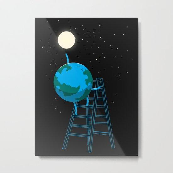 Reach the moon Metal Print