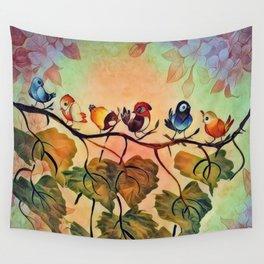 Spring Peeps Wall Tapestry