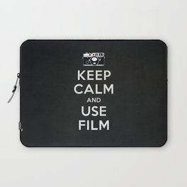 Keep Calm And Use Film Laptop Sleeve
