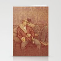 johnlock Stationery Cards featuring calm by br0-harry