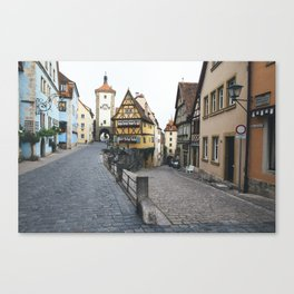 Rothenburg ob der Tauber Canvas Print