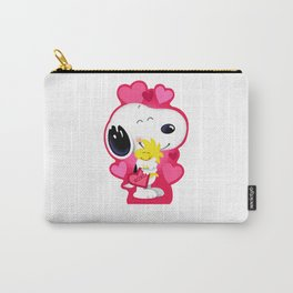 Snoopy pink hug Carry-All Pouch