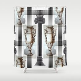 Roman Temple Shower Curtain