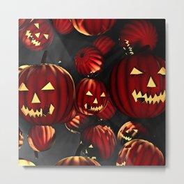 Scary Halloween Metal Print