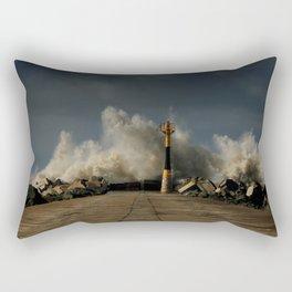 Dark Swell Rectangular Pillow