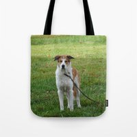 courage Tote Bags featuring Courage by Kaleena Kollmeier