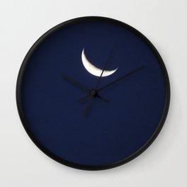 i wish i was the moon Wall Clock