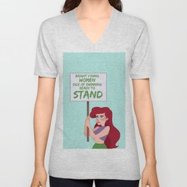 Protest Princess: Ariel Unisex V-Neck