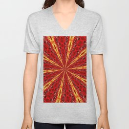FALL KALEIDOSCOPE Unisex V-Neck