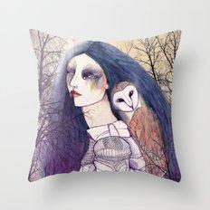 Lyla night Throw Pillow