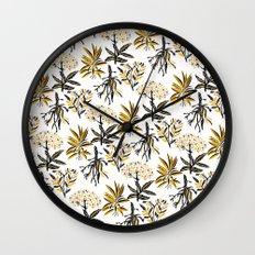 Herbal Apothecary Wall Clock